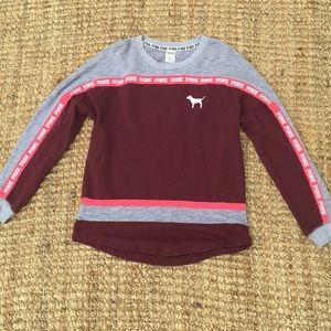 PINK Victoria's Secret Sweaters - PINK crew shirt